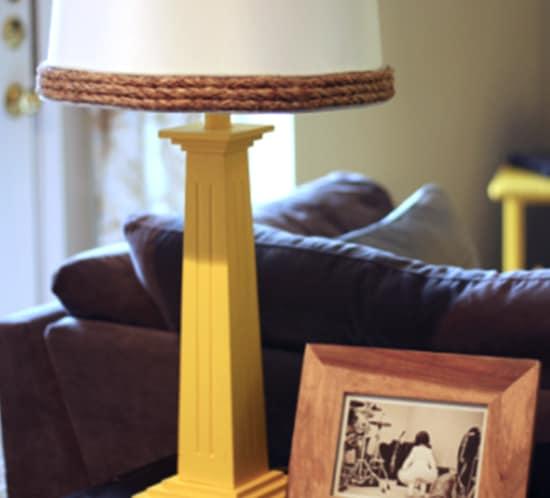 diy rope lamp shade mountainmodernlife.com