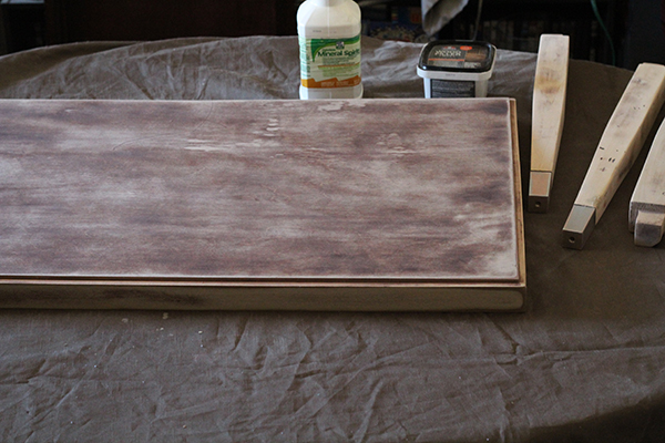 upcycled-diy-stenciled-coffee-table-before