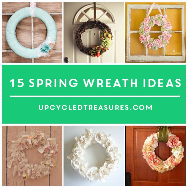 15-DIY-spring-wreath-ideas-upcycledtreasures