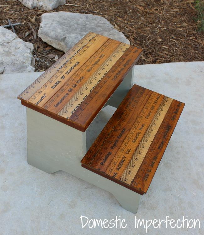 vintage-yardsticks-step-stool-domestic-imperfection