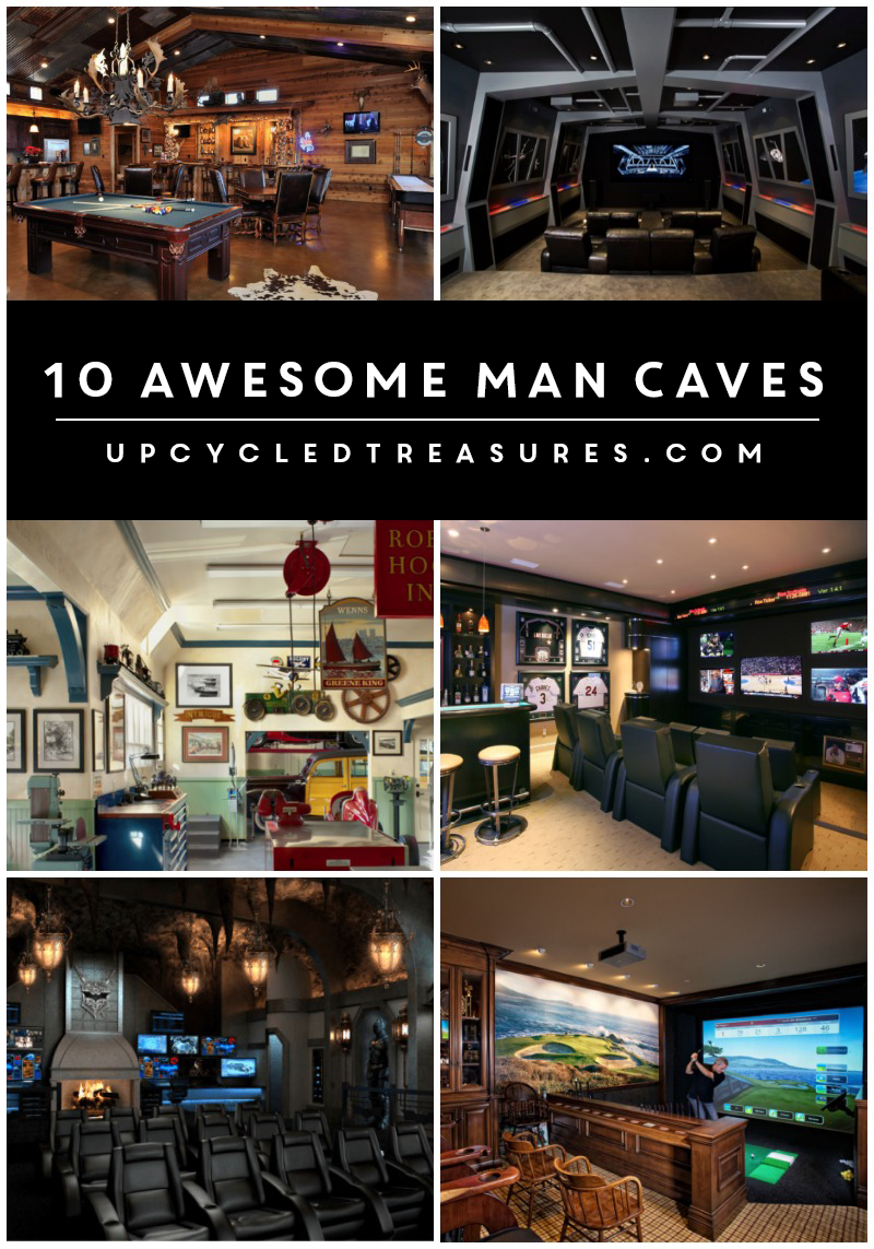 Every guy (and gal) should have their own special place to retreat. Check out these 10 awesome man cave ideas!
