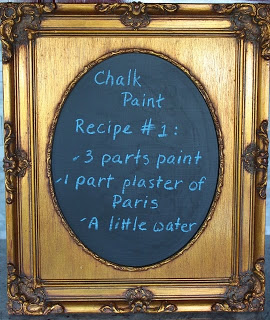 3 Homemade chalk paint recipes