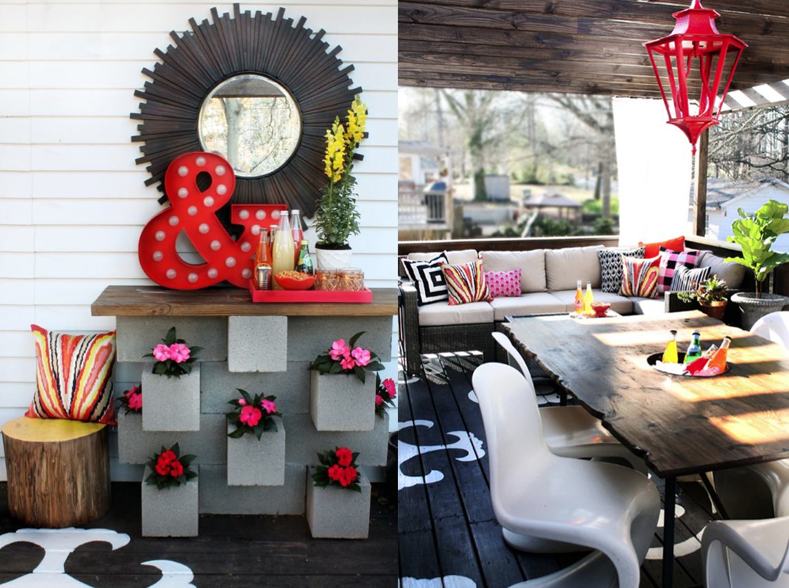 7 Inspiring Summer Spaces outdoor-space-inspiration-summer-home-tour-the-hunted-interior