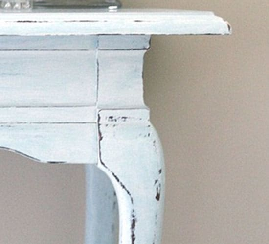 beach inspired console table mountainmodernlife.com