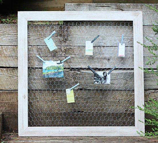 diy chicken wire frame mountainmodernlife.com