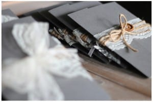 DIY Rustic Wedding Invitations | MountainModernLife.com