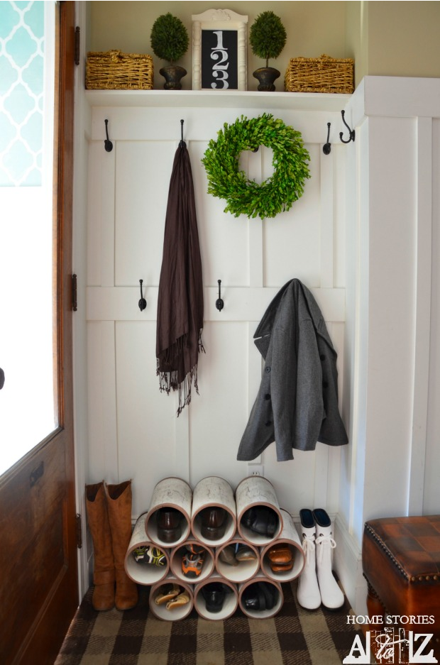 Need some help with organization? Here are 20 ways to organize using PVC pipes around your home in an unconventional way. UpcycledTreasures.com