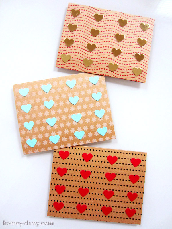 20 Valentine Craft Ideas that you can do last minute | DIY Valentine Cards | Homey Oh My