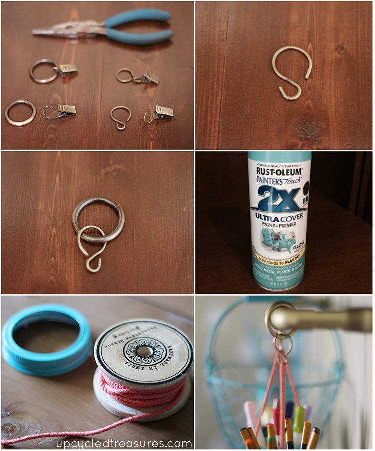 how-to-hang-mason-jars-from-industrial-pipe-rail-for-craft-storage-upcycledtreasures