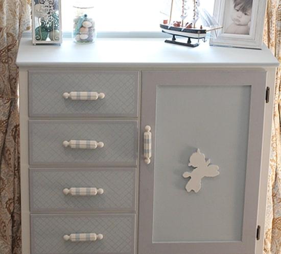 kids painted dresser makeover mountainmodernlife.com