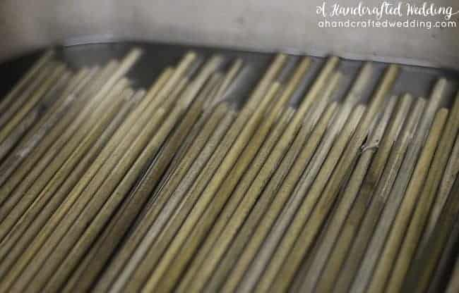 Check out this tutorial on how to make DIY wedding wands, a perfect alternative to rice for your ceremony or reception exit! MountainModernLife.com