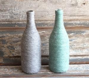 upcycled-yarn-wrapped-bottles-mountainmodernlife.com