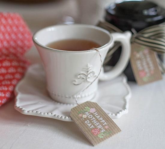 Printable Mothers Day Tea Tags