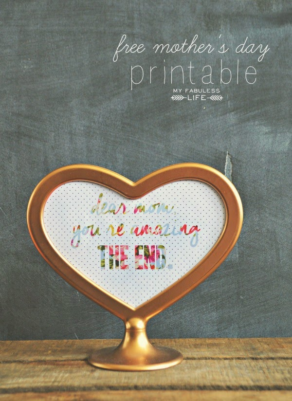 15 FREE Mother's Day Printables | upcycledtreasures.com