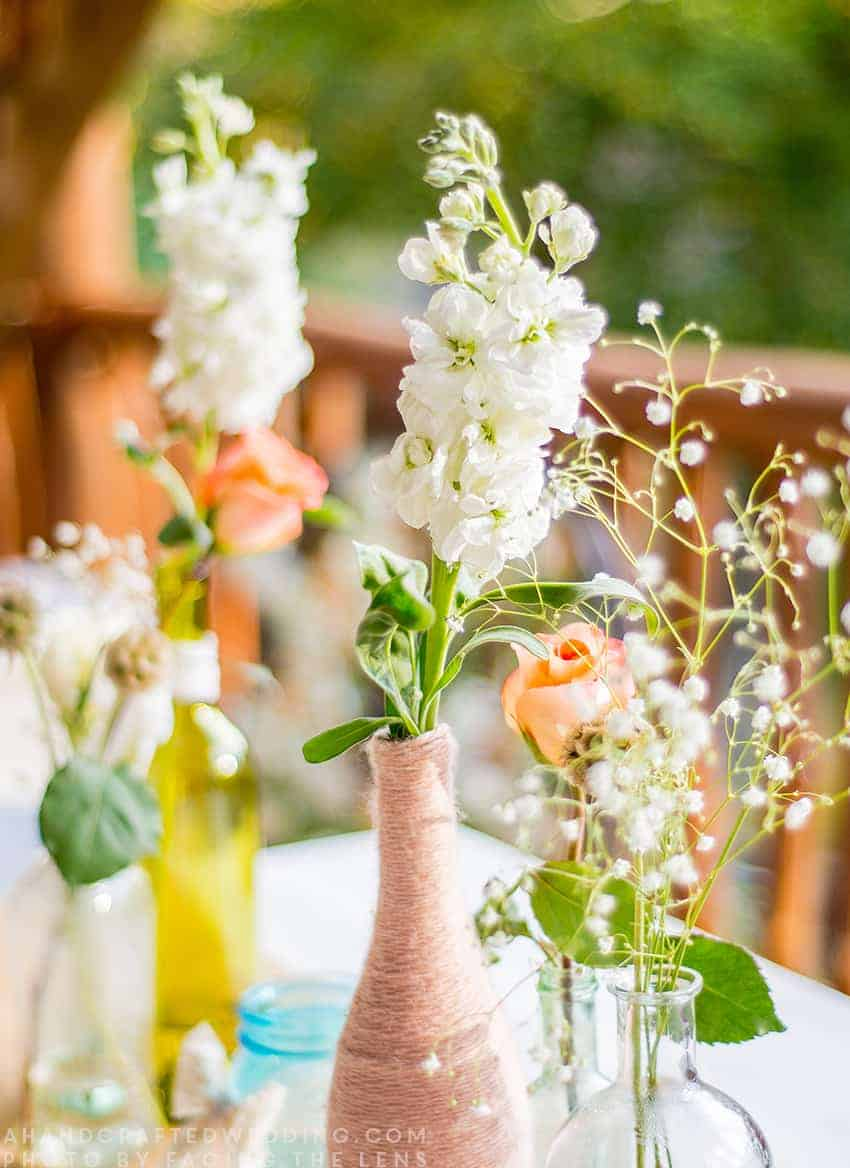 Planning an intimate wedding? Check out our handcrafted cabin wedding that took place in the North Carolina mountains. mountainmodernlife.com
