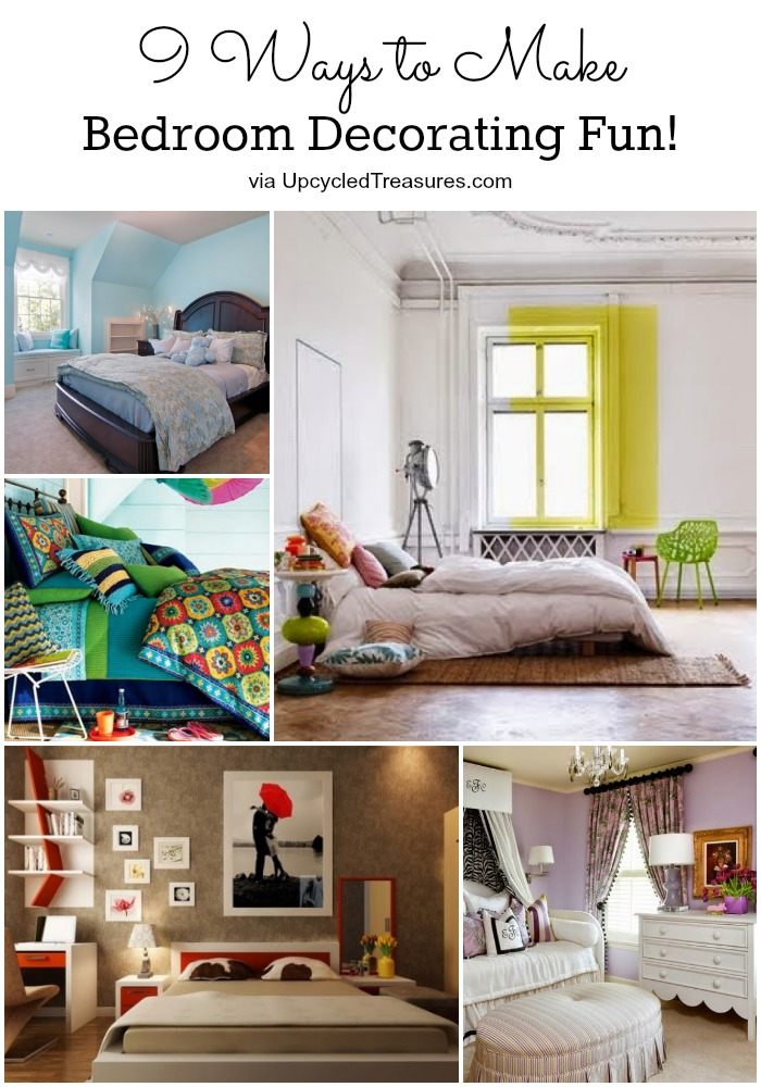 9-ways-to-make-bedroom-decorating-fun-collage-upcycledtreasures