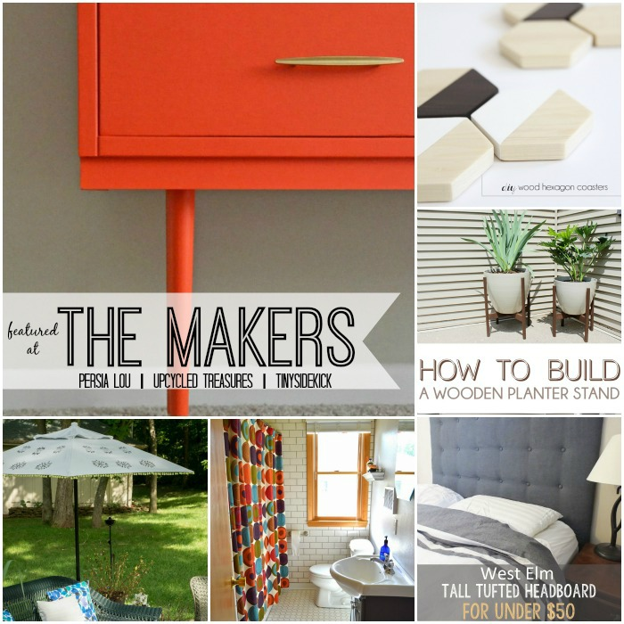 DIY-project-inspiration-featured at the makers link party #28