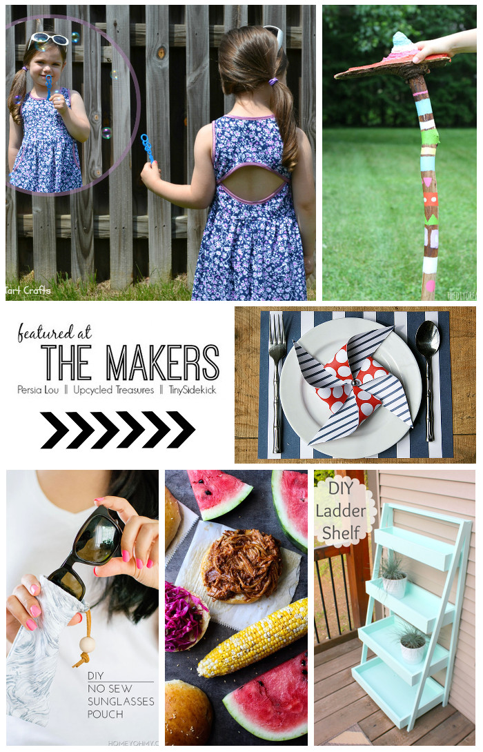 the-makers-link-party-DIY-blogger-features