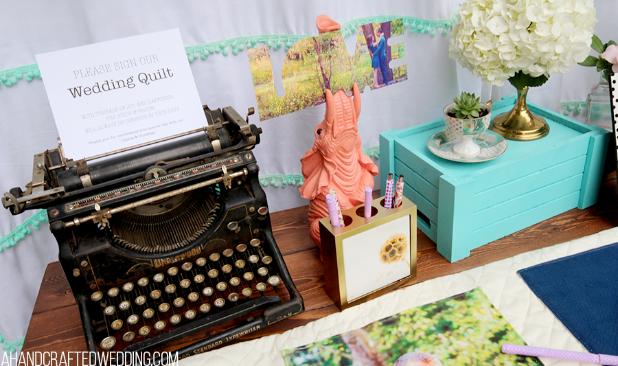 Upcycled Photo Display! See how easy it is to create a whimsical photo display out of upcycled items you already have on hand! MountainModernLife.com