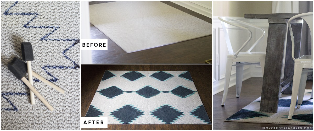 featured-image-DIY-Painted-Rug-with-free-printable-template-upcycledtreasures