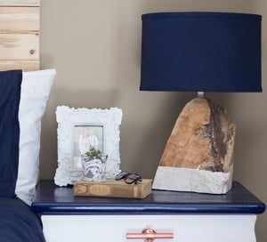 modern rustic salvaged wood lamp mountainmodernlife.com