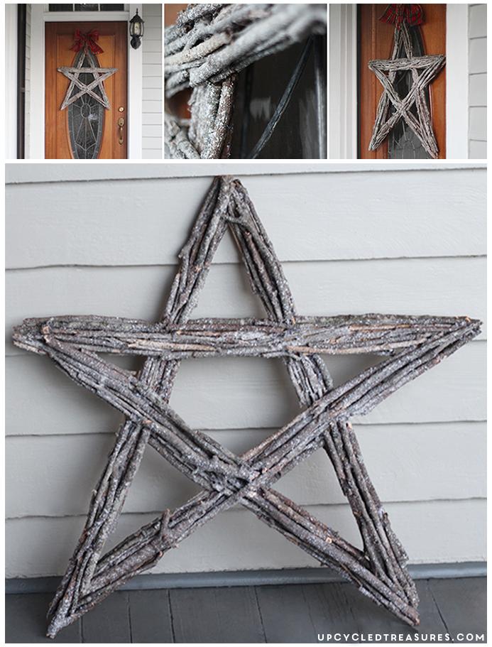 Twig Star Wreath