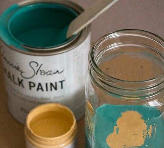 mixing annie sloan chalk paint mountainmodernlife.com