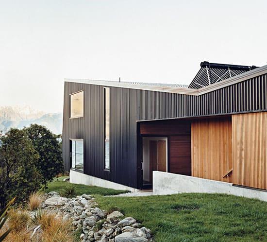 modern rustic black exterior house kerr ritchie house exterior studio