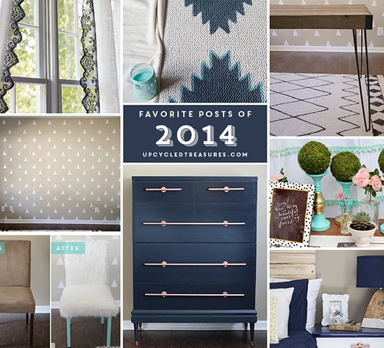 favorite diy projects of 2014 year in review mountainmodernlife.com