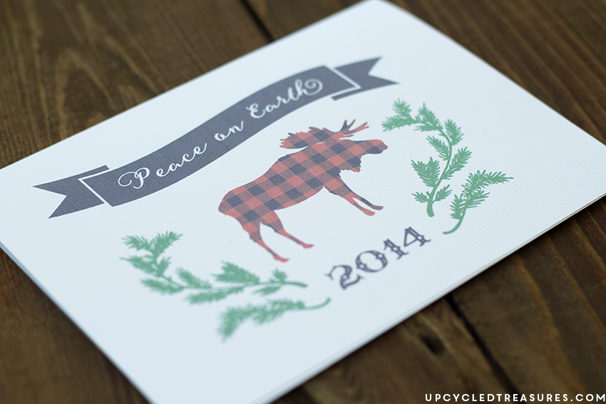 Looking for the perfect card to send out for the Holidays? If so these FREE Printable Holiday Cards are for you! UpcycledTreasures.com