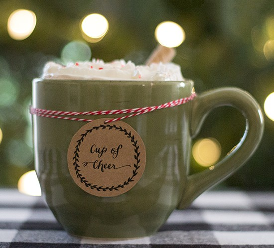 hot chocolate bar tradition mountainmodernlife.com