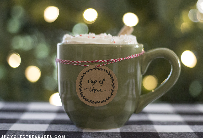 A New Christmas Tradition - Check out my hot chocolate bar station and 25+ other holiday traditions shared by bloggers.