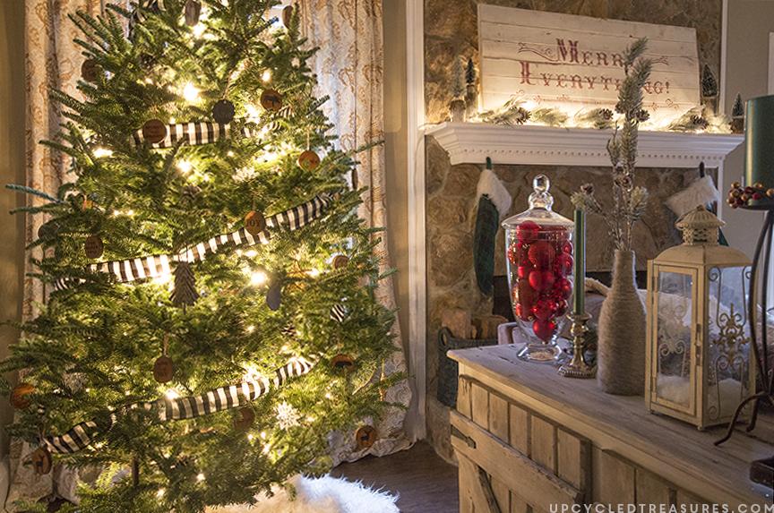rustic-woodland-inspired-christmas-decor-upcycledtreasures