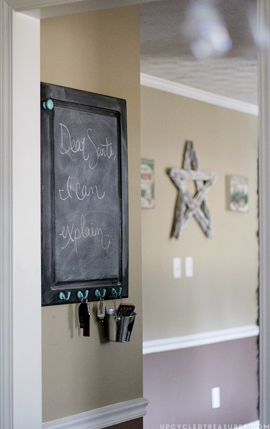 upcycled-chalkboard-cabinet-in-kitchen-upcycledtreasures