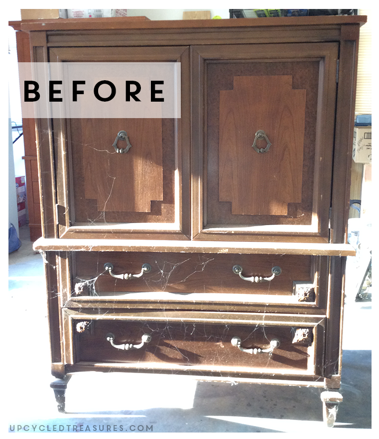 thrifted-basic-witz-furniture-mid-century-armoire-transformation-before-photo-upcycledtreasures
