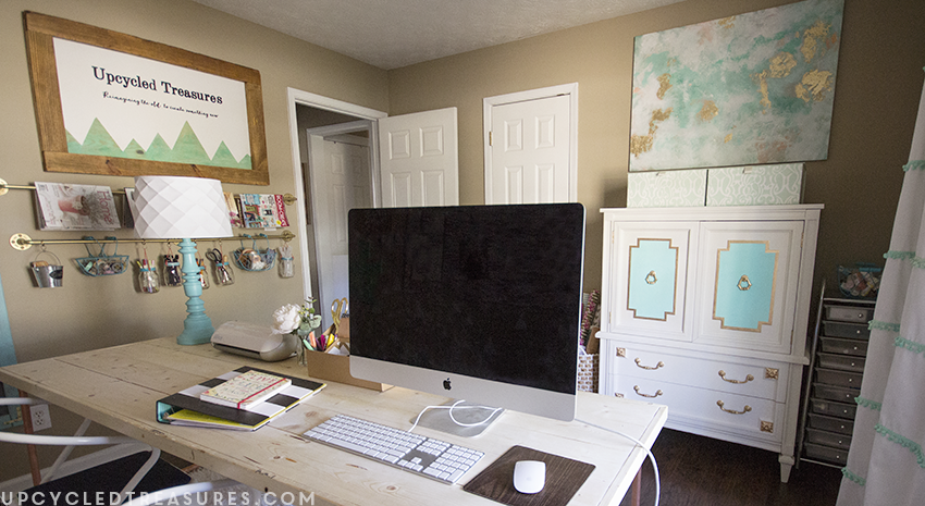 creative-workspace-and-craft-room-ideas-upcycledtreasures