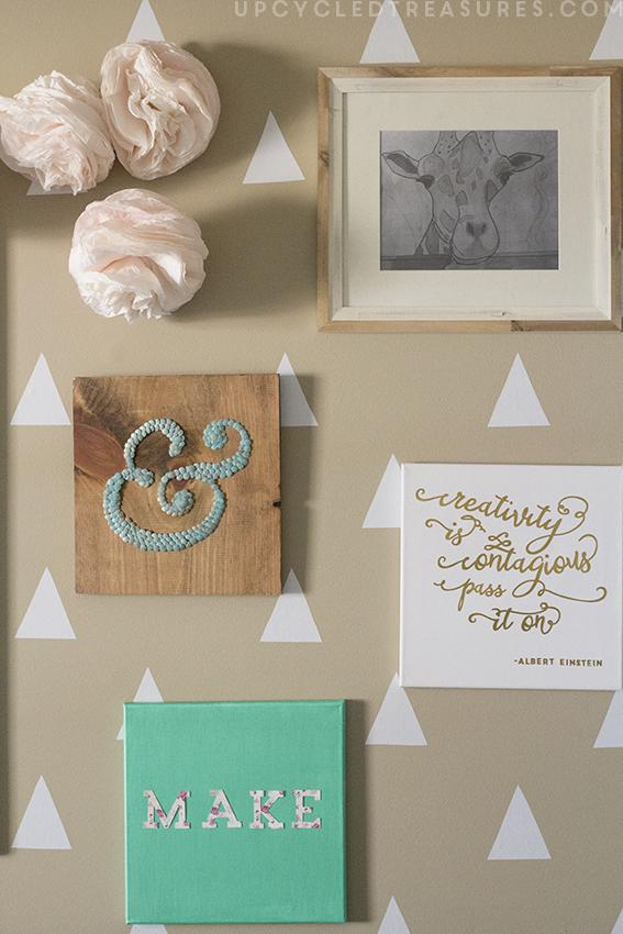 diy-wall-art-in-craft-room-office-upcycledtreasures