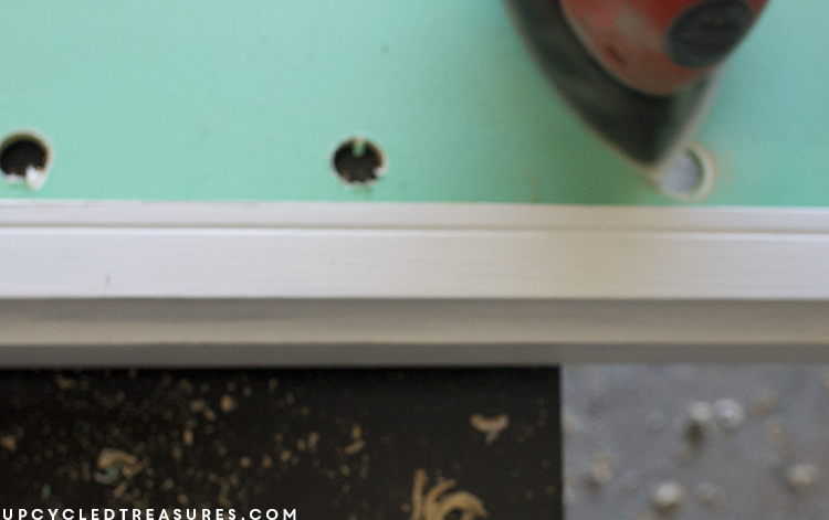 diy marquee sign for creative workspace - upcycledtreasures