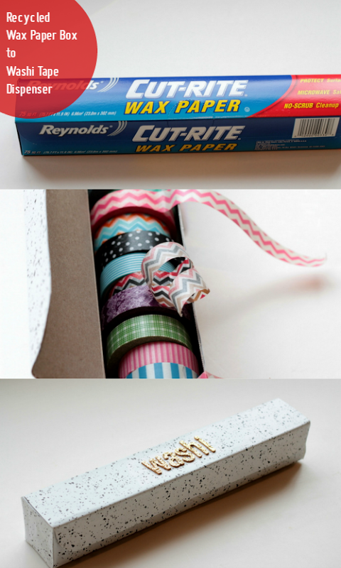 Wax Paper Box to Washi Tape Dispenser via homework (1)[19]