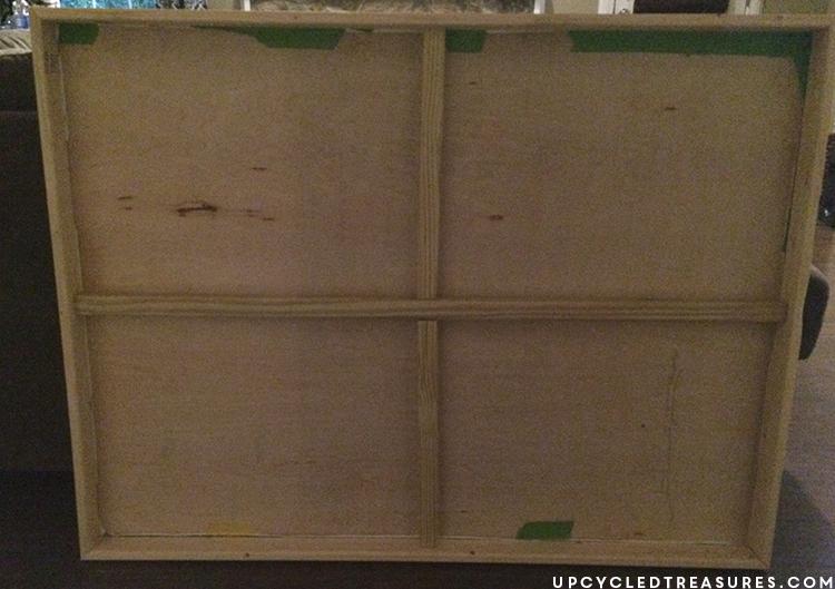 diy-framed-plywood-art-upcycledtreasures
