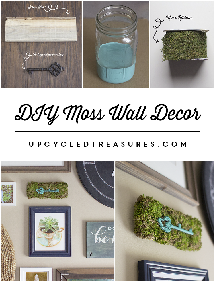 Do you need a clever woodland inspired weekend project? If so check out how you can create DIY Moss Wall Decor   MountainModernLife.com