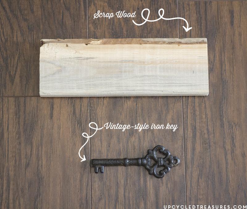 diy-wall-decor-scrap-wood-and-vintage-style-key-upcycledtreasures