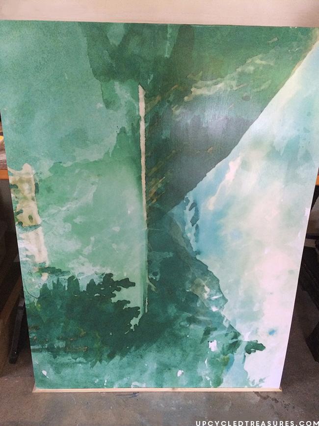 framing-diy-large-scale-art-upcycledtreasures