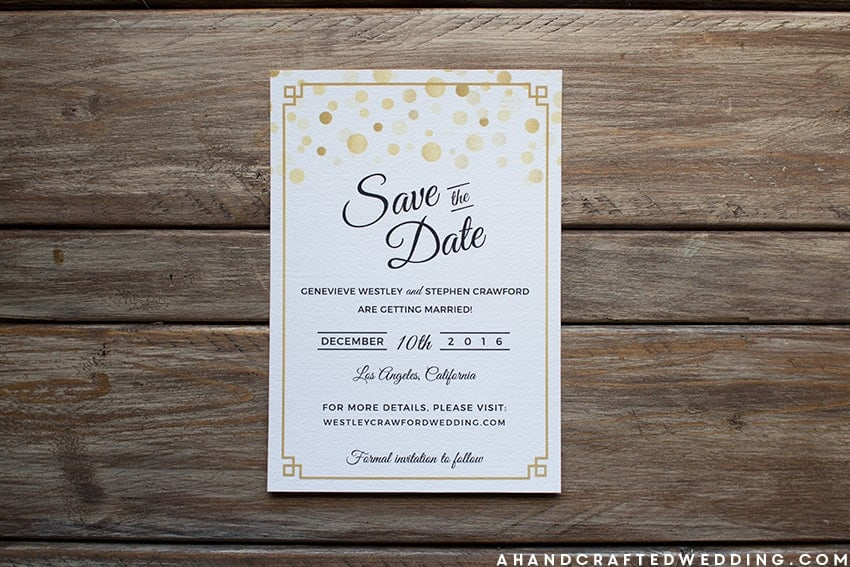 Are you looking to find inspiration for your wedding invitations? Check out these Modern DIY Wedding Invitations   MountainModernLife.com