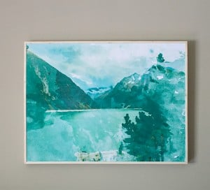 how to create large scale wall decor on a budget mountainmodernlife.com