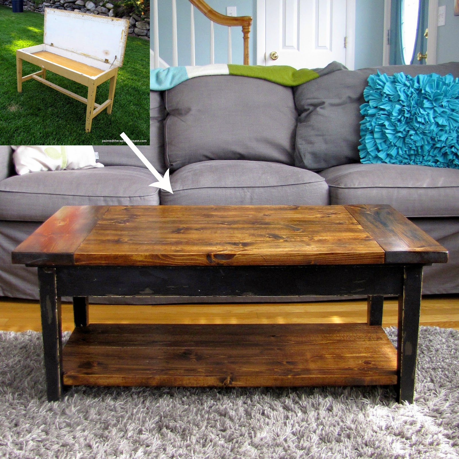 upcycled-piano-bench-turned-coffee-table