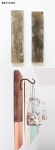 diy-rustic-modern-wall-hangings-from-reclaimed-wood-with-copper-and-gold--before-and-after-mountainmodernlife.com