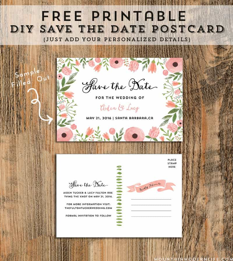 free-floral-printable-save-the-date-mountainmodernlife.com