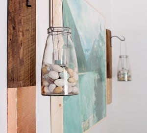 how to make a rustic wood wall hanging for bedroom decor mountainmodernlife.com