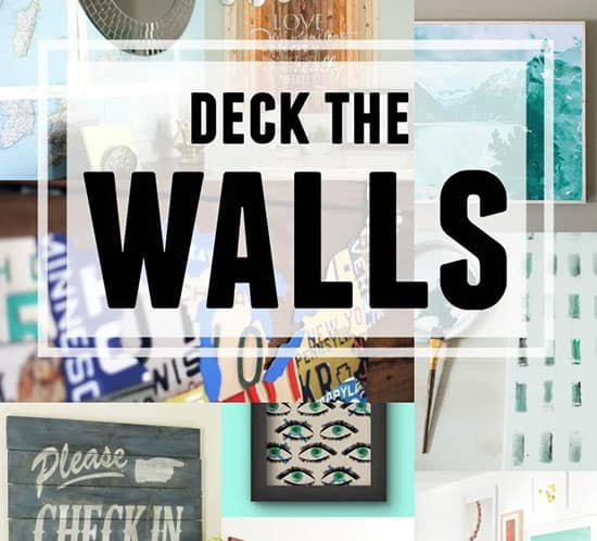 20 diy wall decorating ideas on remodelaholic